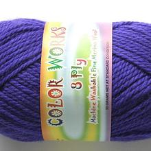 colorworks 8ply fine merino wool - ultramarine 447