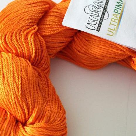 Cascade Ultra Pima - 3822 Vibrant Orange