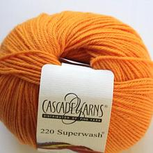 220 Superwash - Orange 825