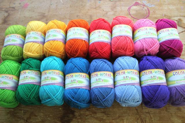 Colour Collection - Rainbow Bright