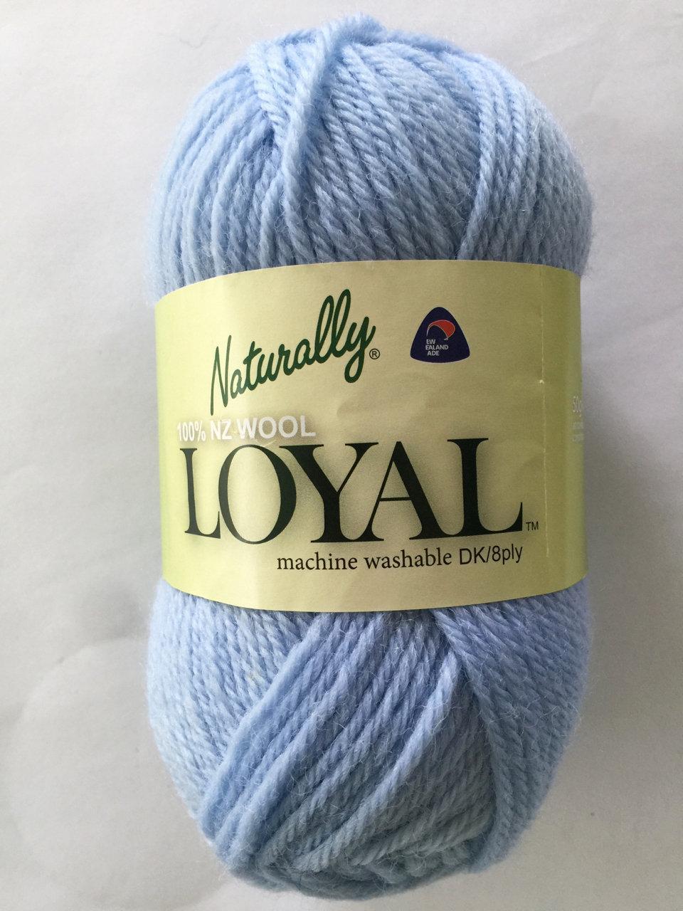 Loyal 8ply (DK) - pale blue 962