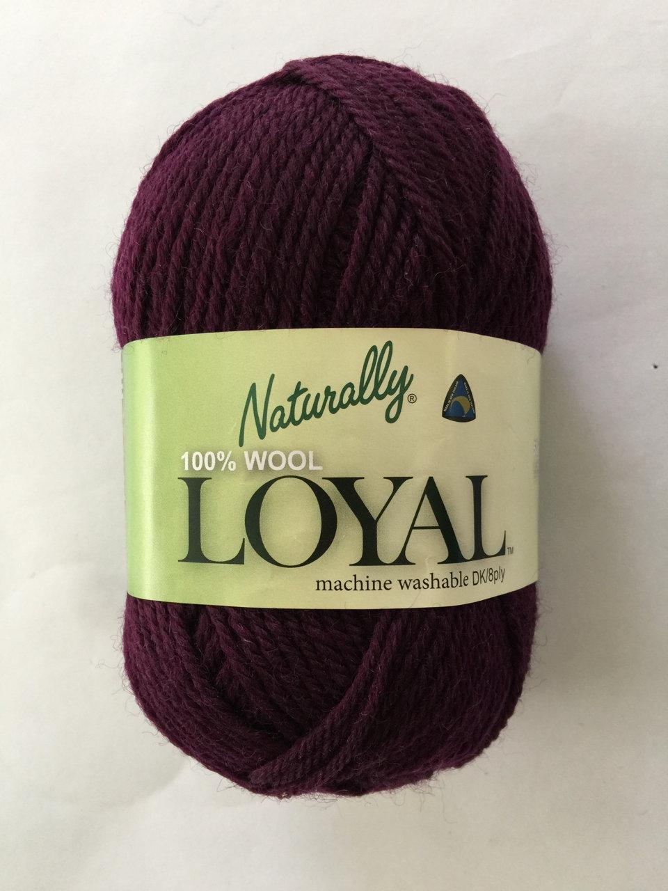 Loyal 8ply (DK) - maroon purple 961
