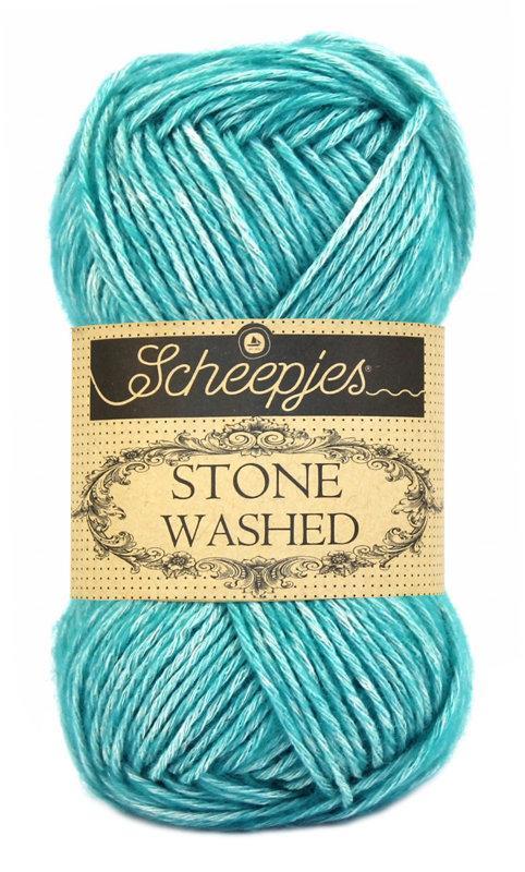 Scheepjes Stone Washed - Green Agate 815