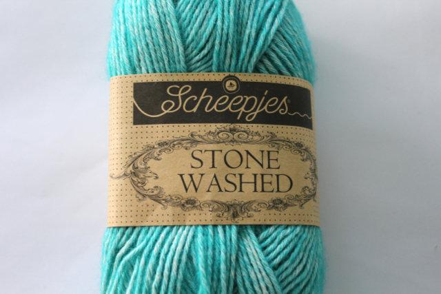 Scheepjes Stone Washed - Turquoise 824