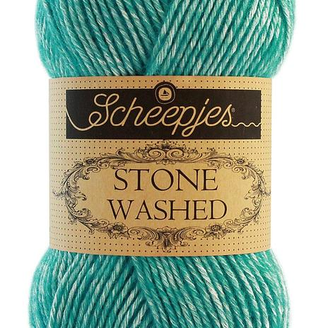 Scheepjes Stone Washed - Turquoise 824