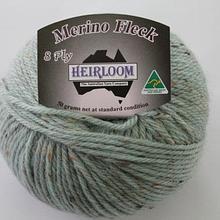 Heirloom Merino Fleck 8ply - duck egg 546
