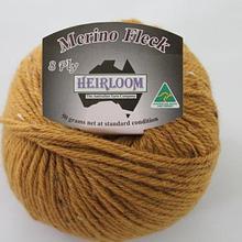 Heirloom Merino Fleck 8ply - mustard 566