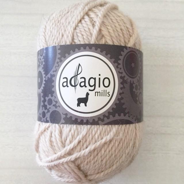 Adagio Mills 8ply Alpaca - Vanilla Milkshake