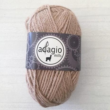 Adagio Mills 8ply Alpaca - Chai