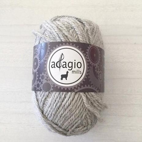 Adagio Mills 8ply Alpaca - Clouds