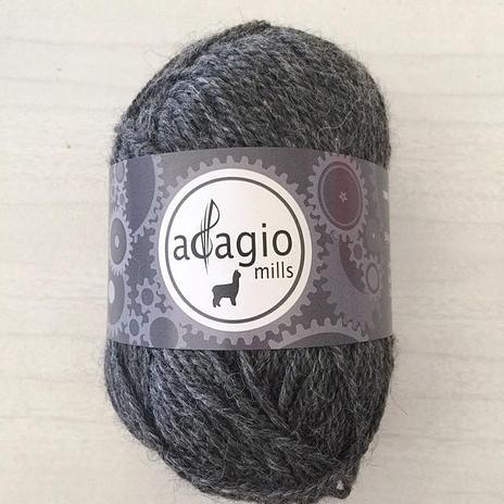 Adagio Mills 8ply Alpaca - Stormy Grey
