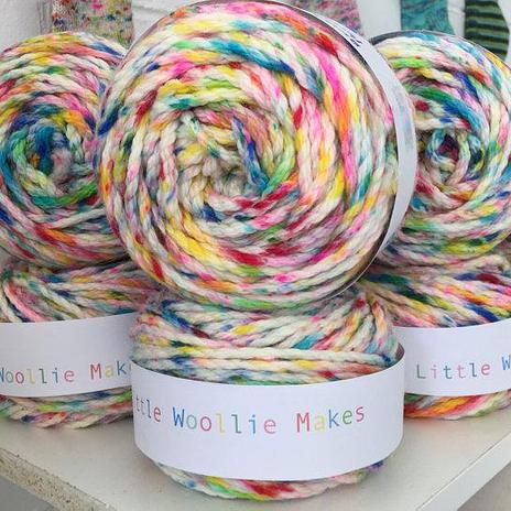Little Woollie Makes Hand dyed 40ply - Birthday Party