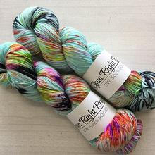Spun Right Round SW Sock 80/20 - Sugar pop fizz
