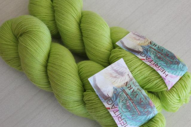 Heritage Sock Yarn - Citron 5629