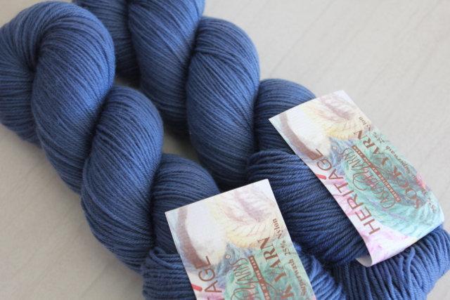 Heritage Sock Yarn - Denim 5604