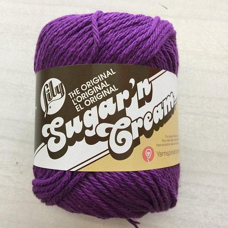 Lily Sugar 'n Cream Cotton - Blackcurrant