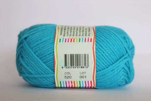 Heirloom Merino Magic Highlights - Aqua 520