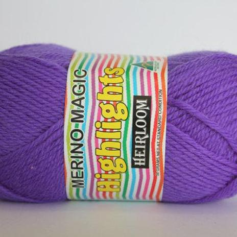 Heirloom Merino Magic Highlights - Purple 536