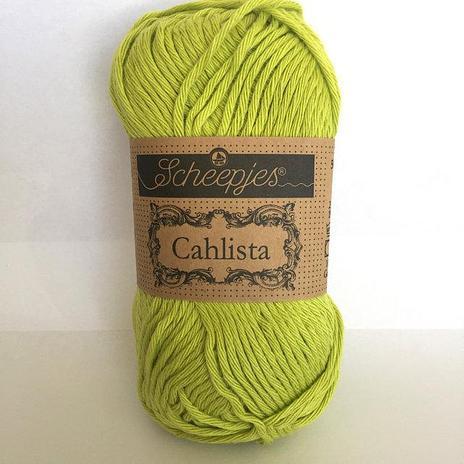 Scheepjes Cahlista Cotton - Green Yellow 245
