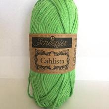 Scheepjes Cahlista Cotton - Apple Green 389