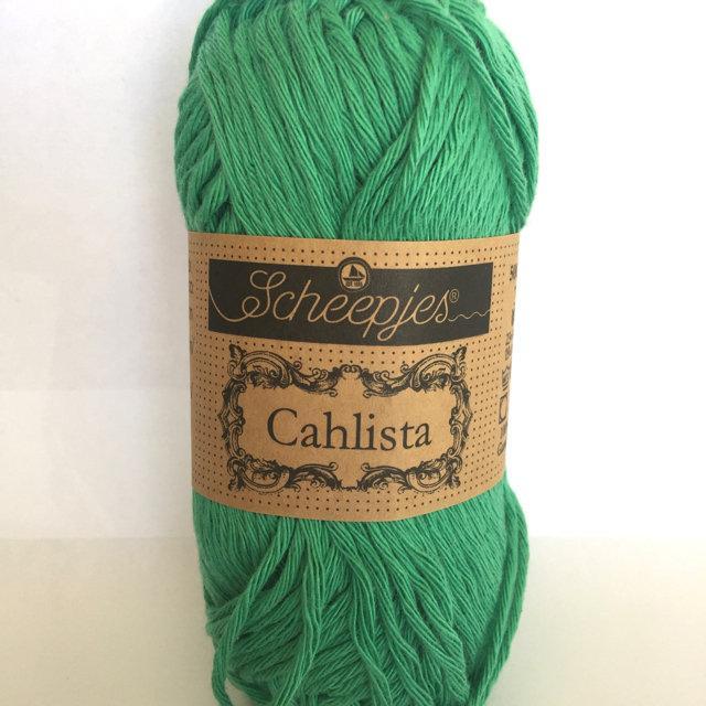 Scheepjes Cahlista Cotton - Parrot Green 241