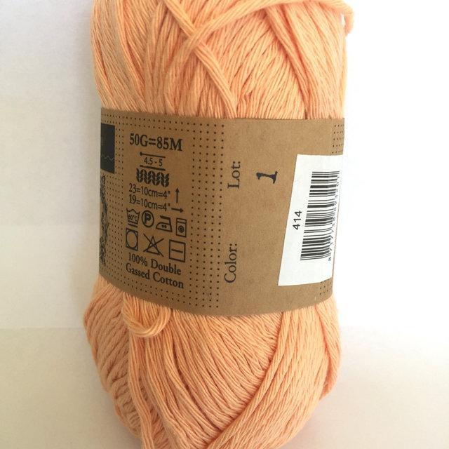 Scheepjes Cahlista Cotton - Vintage Peach 414