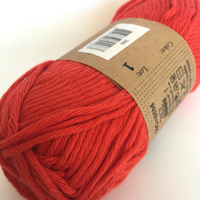 Scheepjes Cahlista Cotton - Poppy Red 390