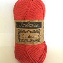 Scheepjes Cahlista Cotton - Hot Red 115