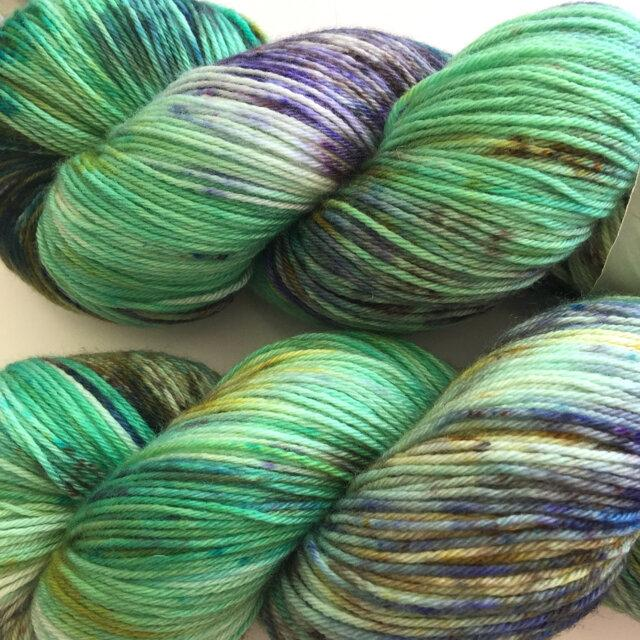 Wren and Ollie Sock Yarn - Willow
