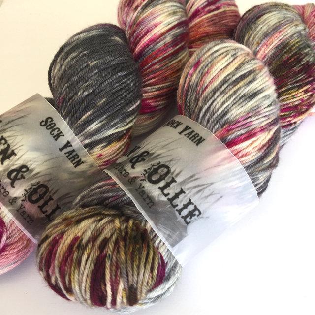 Wren and Ollie Sock Yarn - Crush