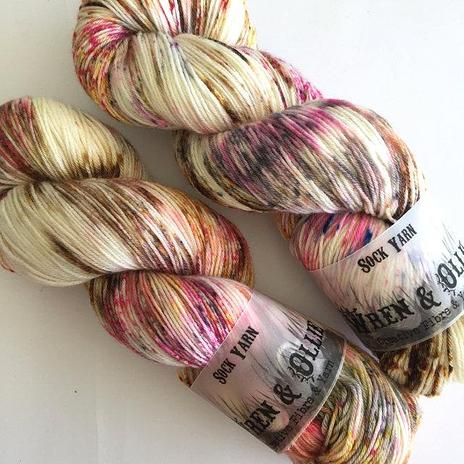 Wren and Ollie Sock Yarn - Parfait