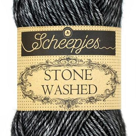 Scheepjes Stone Washed - Black Onyx 803