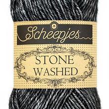 Scheepjes Stone Washed - Black Onyx 803