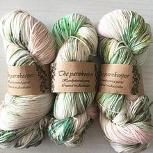 The Yarnkeeper Hand Painted sock - Bud