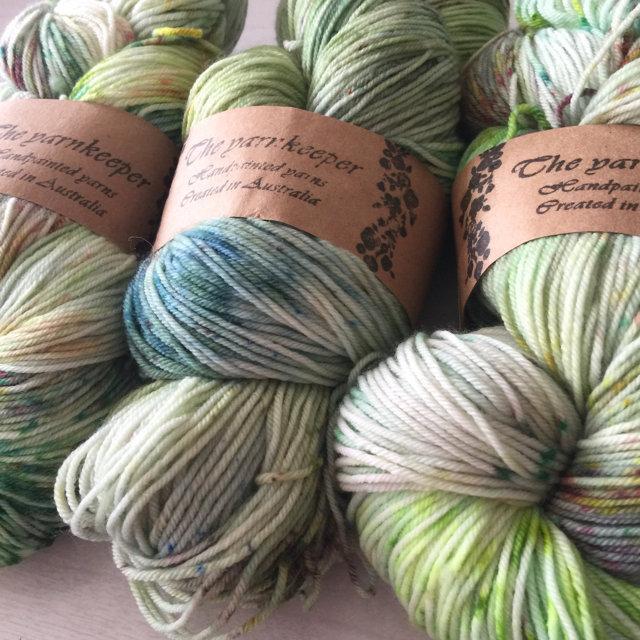 The Yarnkeeper Hand Painted sock - ireland