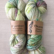 The Yarnkeeper 4ply singles -lime wash