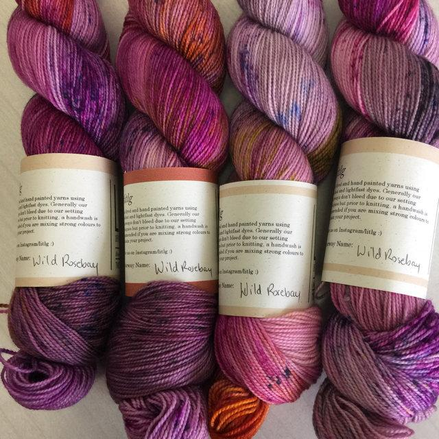 LITLG Twist sock - Wild Rosebay