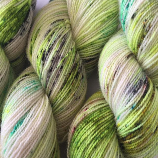 Hedgehog Fibres Sock Yarn - Pesto