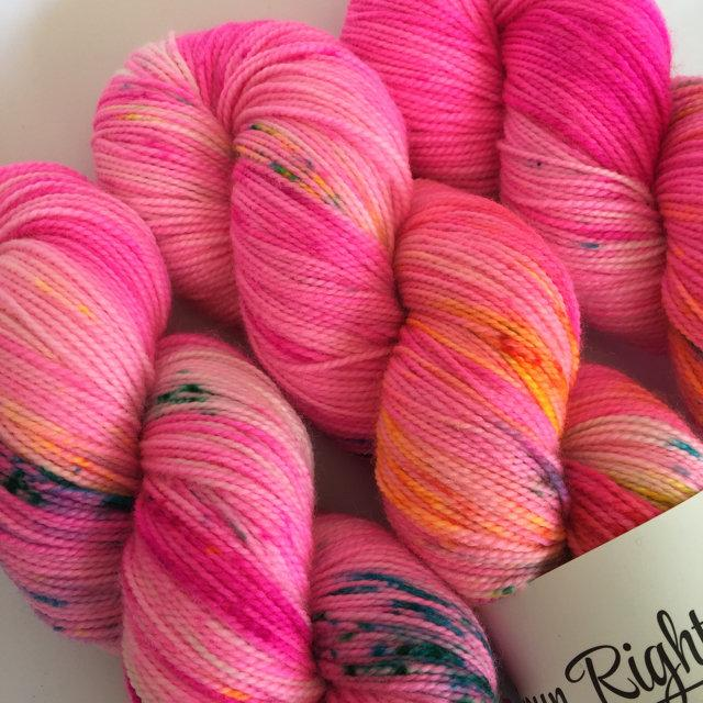 Spun Right Round SW Sock 80/20 - vacation holiday