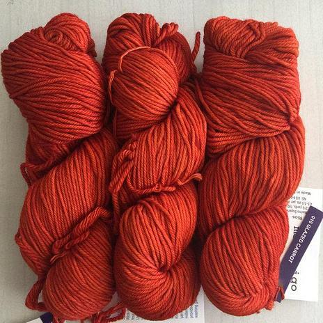 Malabrigo Rios - Glazed Carrot 16