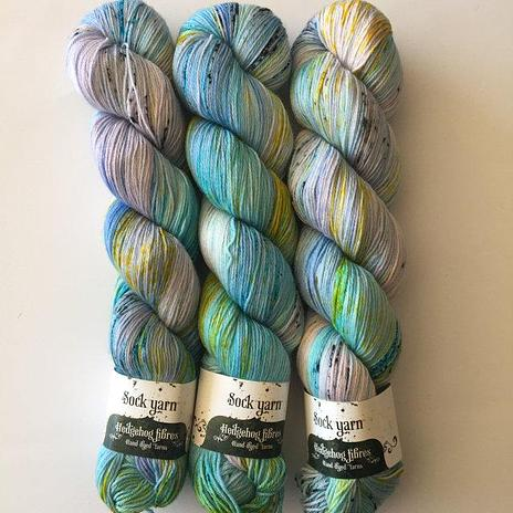 Hedgehog Fibres Sock Yarn - Budgie