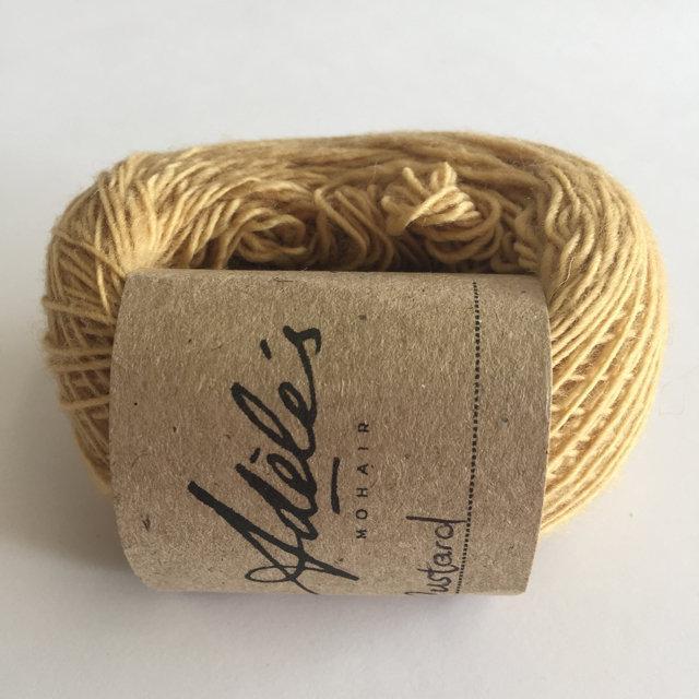 Adele's Mohair Skinny Wool - Mustard