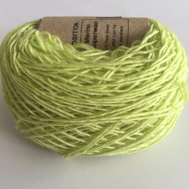 Adele's Mohair Skinny Wool - Acid Green