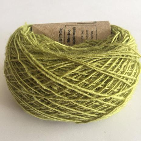 Adele's Mohair Skinny Wool - Green Potion