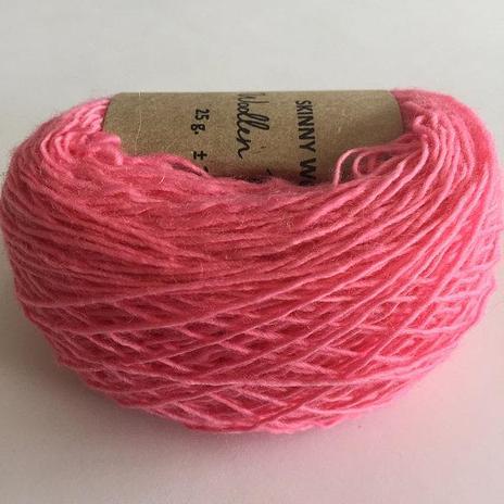 Adele's Mohair Skinny Wool - Bright Pink