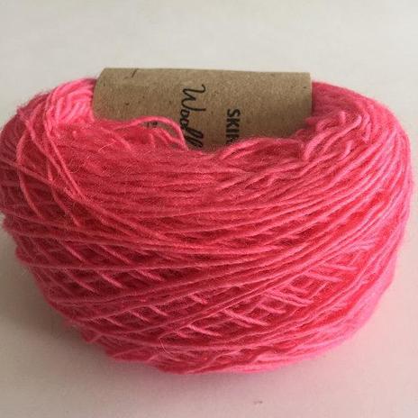 Adele's Mohair Skinny Wool - Burnt Red