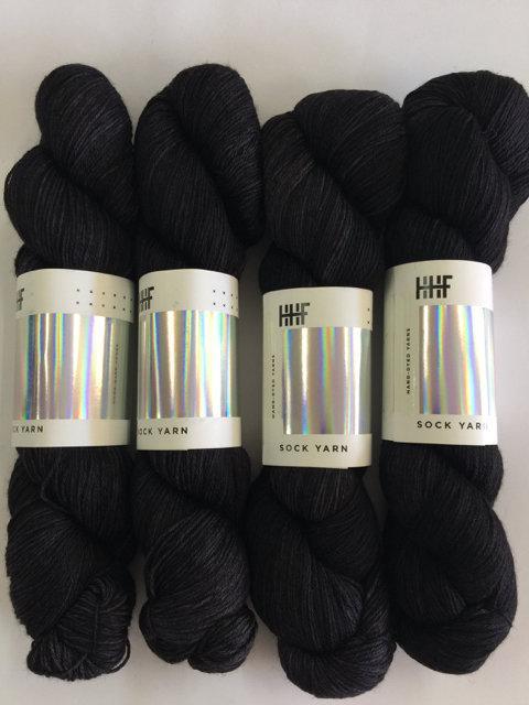 Hedgehog Fibres Sock Yarn - Graphite